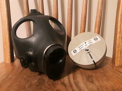New Israeli Adult Civilian Gas Mask with Sealed 40mm Filter