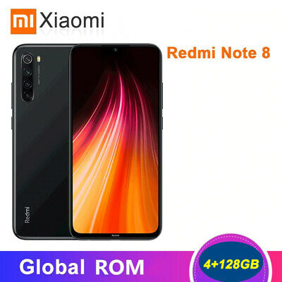 Global Xiaomi Redmi Note 8 4GB+128GB MIUI 10 Snapdragon 665 Octa Core 4G Mobile