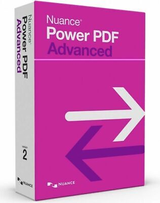 Nuance Power PDF Advanced v2.1 Edit, Secure PDF documents, Fast Delivery