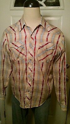 Vintage Snap Button Shirt
