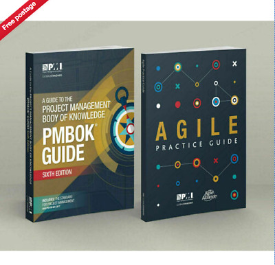 PMI PMBOK Guide 6th Edition 2018 + Agile Practice Guide High Quality (PDF)