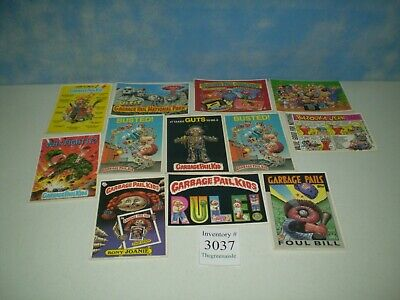 "Lot of 12 Original 1986 Garbage Pail Kids Post Cards Approx Size 6 7/8"" x 4 7/8"""