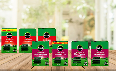 Miracle-Gro EverGreen Seed Lawn Seed Fast Growing Rapid Quick Tough Hard Wearing