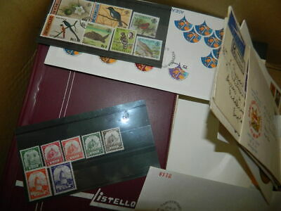 LARGE COMMONWEALTH STAMPS ACCUMULATION (Stockbooks, leaves, cards etc.)