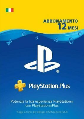 PlayStation Plus  365 GIORNI (IT) PSN  ITALY