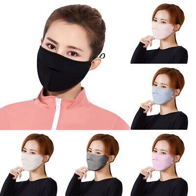 1/6/10*Breathable WashableAnti-dust Haze Face Mouth Nose Anti-Fog Cover Outdoors