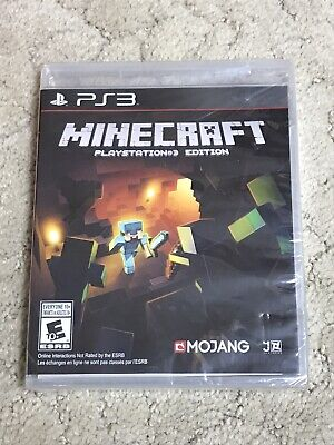 Minecraft (Sony PlayStation 3, 2014) PS3 Edition Brand New Factory Sealed!