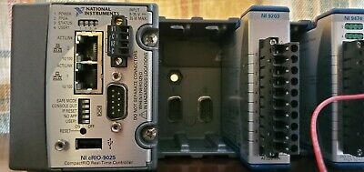National Instruments NI-9025 cRIO Controller w/ NI 9203, 9474, 24V Power Supply