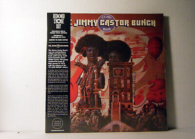 JIMMY CASTOR BUNCH LP It's just begun 1972 Tidal Waves Music Reissue Red SEALED!