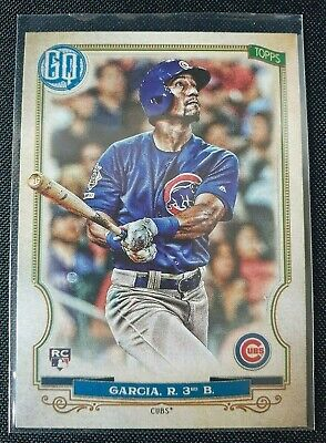 2020 Topps Gypsy Queen Robel Garcia Bazooka Back Parallel RC Chicago Cubs SP