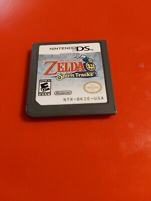 The Legend of Zelda: Spirit Tracks CART ONLY TESTED AUTHENTIC (DS, 2009)