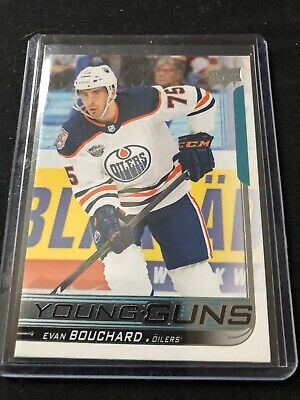 2018/2019 UD YOUNG GUNS EVAN BOUCHARD Rookie 🔥🔥🔥
