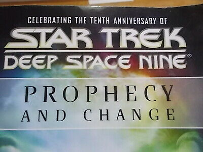 STAR TREK DEEP SPACE NINE   PROPHECY AND CHANGE   10TH Anniversary 2003 💥
