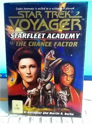 STAR TREK STARFLEET ACADEMY #2   THE CHANCE FACTOR  EX LIBRARY Illustrated