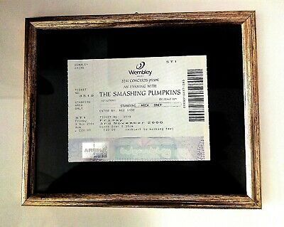 Biglietto The Smashing Pumpkins Ticket Wembley Arena 2000. Originale. Non Usato