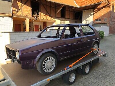 Original Golf 2 II GTI Edition One G60 140.000 KM Recaros Motor überholt  no 16V