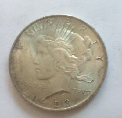 USA, Peace Dollar about uncirculated