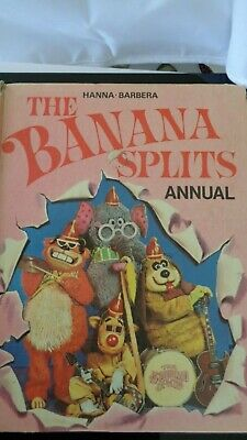 Hanna Barbera The Banana Splits Annual 1971