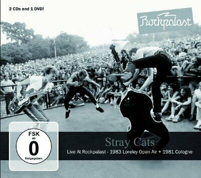 STRAY CATS - Live At Rockpalast - DVD + 2 CD MadeInGermany