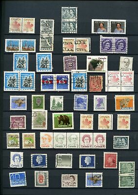 Canada Stockpage Full Of Stamps #W803