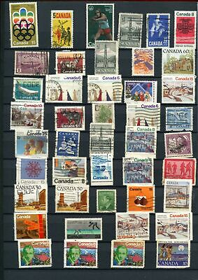 Canada Stockpage Full Of Stamps #W781