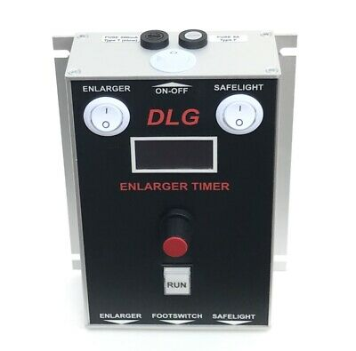 DLG Enlarger Timer With Footswitch