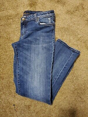 KUT From The Kloth Womens Size 8 Catherine Boyfriend Ankle Jeans Medium Wash VGC