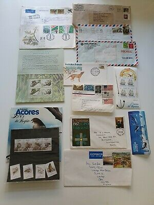 collection of old stamps first day covers and unused sets