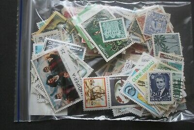 250+ Worldwide Stamps - All Different - Off Paper - Used   #26
