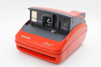[Near MINT] POLAROID ONE 600 ROSSA Red Instant Film Camera from Japan HK322