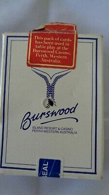 Burswood Casino Perth, Pack of playing cards used in casino