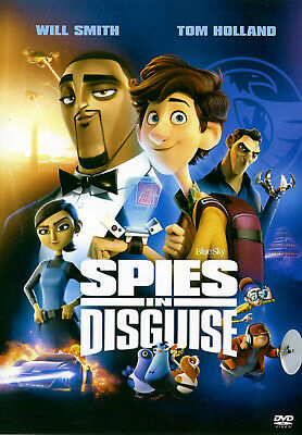 Spies in Disguise - Will Smith, Karen Gillan (DVD 2020) Super Fast Shipping!