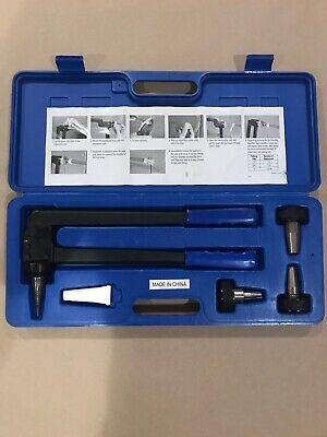 "PEX EXPANSION TOOL kit with 1/2"" 3/4"" 1""  expander heads plus case"