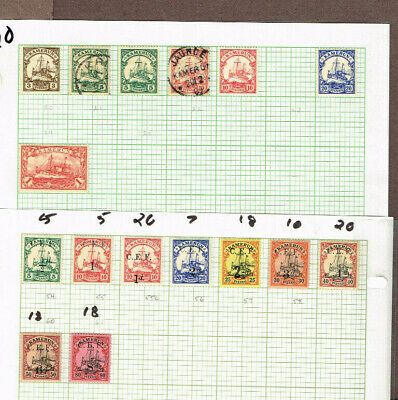 Germany Cameroun 54-61 Etc F-Vf Mh       (Ram15,2