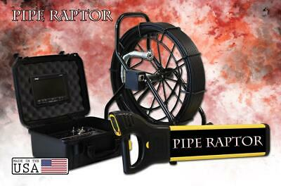 125' Color Sewer Camera Video Pipe Drain Inspection System + Digital Locator