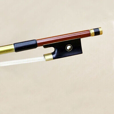 Gold Mounted Pernambuco Violin Bow Good Control and Response Sweet Tone Size 4/4