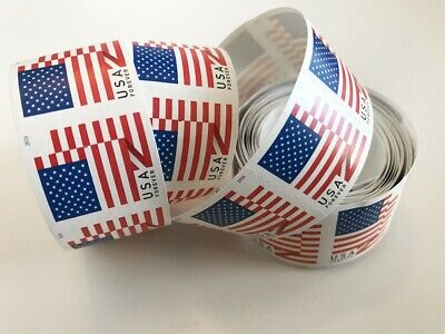 100 USPS Forever Stamps 2018 US Flag Roll Postage Coil 100.FREE SHIPPING!!!