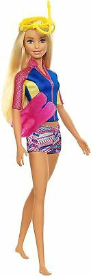 Barbie Dolphin Magic Doll With Snorkel Accessories New