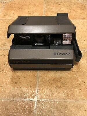 Vintage Polaroid Spectra System Instant Film Camera With Film