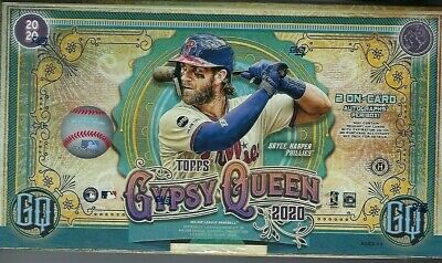 2020 Topps Gypsy Queen Baseball Hobby Box Fact Sealed 2 Autos Per Trout?