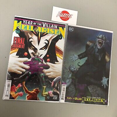 YEAR OF THE VILLAIN HELL ARISEN #4 Cover A & B Set 1ST PRINT VARIANT JOKER 2020