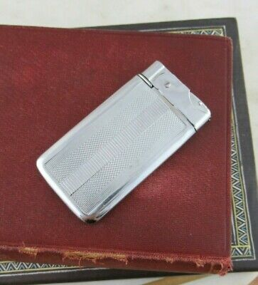 Vintage Super Slim Chrome Pocket Cigarette Lighter