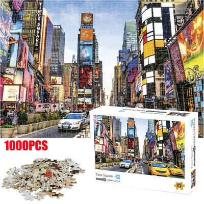 Romantic Town Jigsaw Puzzles 1000Pieces Puzzle Adult Assembling Educational Toys