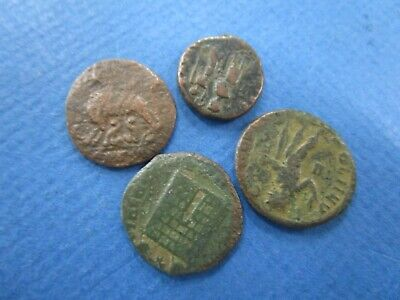 Lot of 4 Authentic Roman Ancient Coins