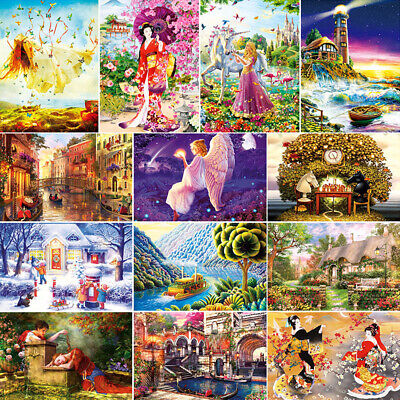 1000 Piece Puzzle Adult Large Jigsaw Landscapes Animals Decompression Game Toys