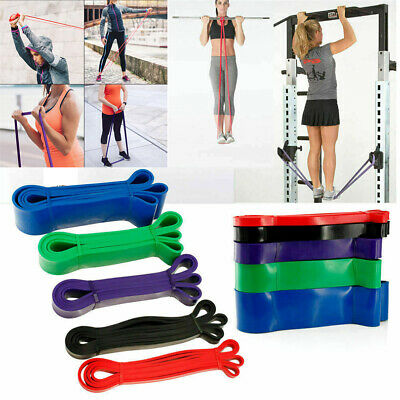 Exercise Bands Latex Resistance Elastic Band Pull Up Assist Bands Fitness GYM
