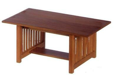 1//12  Dolls House Furniture  Charles 11 Dining Table   DHD6030  Walnut