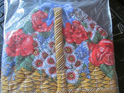 Basket of Flowers Tea Cosy by Frances Worters
