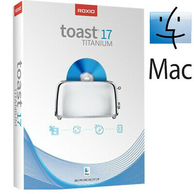 Roxio Toast Titanium 17 Burn and copy CDs and DVDs Multilingual MacOS