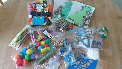 Large  Assortment of Craft Items Suitable  for Childrens Crafts  -  (pack B)